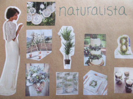 naturalista wedding moodboard